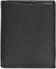 Boohoo , Leather Bifold Wallet - Black
