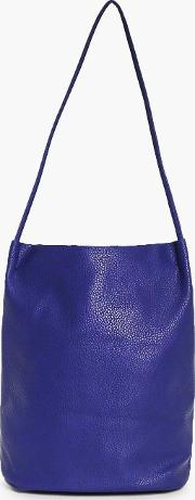Boohoo , Origami Top Simple Duffle Bag - Navy