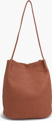 Boohoo , Origami Top Simple Duffle Bag Tan