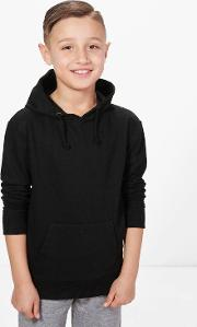 Boohoo , Over The Head Basic Hoody - Black