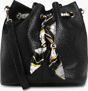 Boohoo , Scarf Detail Duffle Bag - Black