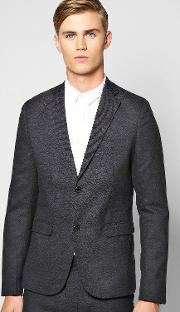 Boohoo , Fit Suit Jacket Charcoal