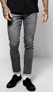 Boohoo , Fit Washed Jeans - Grey