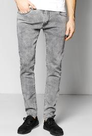 Boohoo , Skinny Fit Washed Fashion Jeans - Grey
