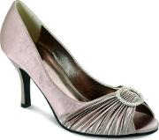 Chesca , Champagne Satin Shoes