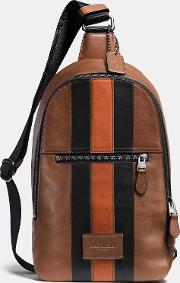 Coach , Modern Varsity Campus Pack In Sport Calf Leather