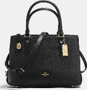 Coach , Brookyln Carryall 28 In Pebble Leather