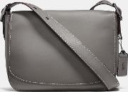 Coach , Saddle 33 In Burnished Glovetanned Leather