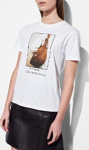 Coach , T Shirt With Archive Print