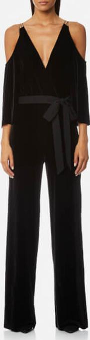 Bec & Bridge , Bec & Bridge Women's The Sourcerer Jumpsuit Black Uk 12 Black