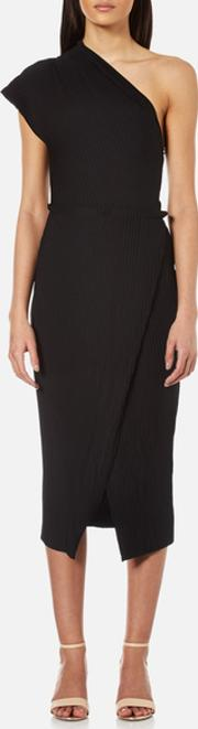 Bec & Bridge , Women's Onyx Split Dress Black