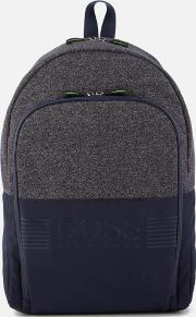 Boss Green , Men's Pixel Medium Backpack Navy