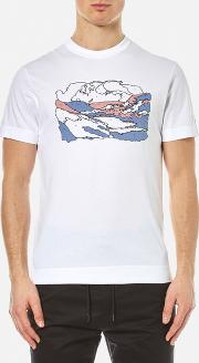Garbstore , Men's By Numbers T Shirt White