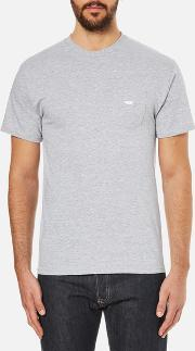 Obey Clothing , Men's  Jumbled Premium Pocket T Shirt Grey