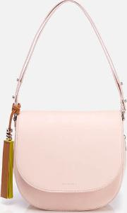 Ps By Paul Smith , Women's Ps Leather Saddle Bag Blush