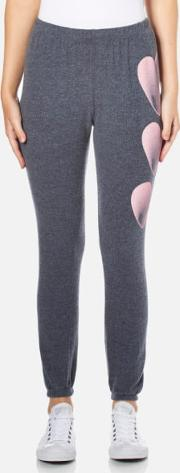 Wildfox , Women's Faded Love Bottoms Knox Sweatpants After Midnight Blue