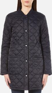 Barbour Heritage , Women's Summer Border Jacket Navy