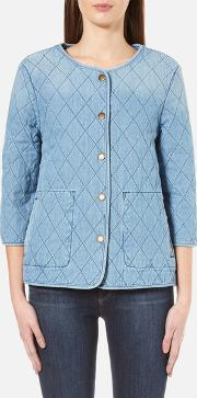 Barbour Heritage , Women's Ros Overshirt Bleach Wash