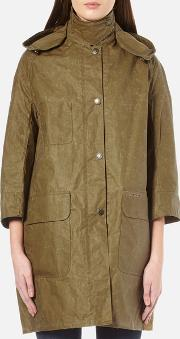 Barbour Heritage , Women's Summer Solway Wax Jacket Sand