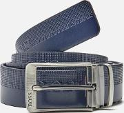 Boss Green , Men's Troy Belt Navy