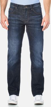 Boss Green , Men's Maine Straight Leg Jeans Navy