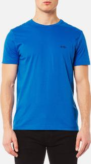 Boss Green , Men's Small Logo T Shirt Victoria Blue