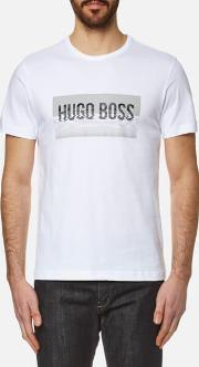 Boss Green , Men's Tee 1 Logo T Shirt White