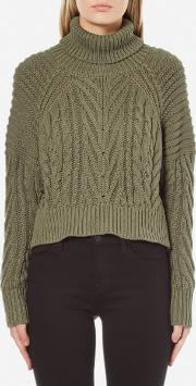 Cmeo Collective , Cmeo Collective Women's Two Can Win Jumper Khaki