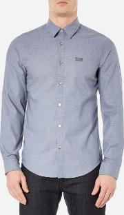 Boss Green , Men's C Buster Long Sleeve Shirt Open Blue
