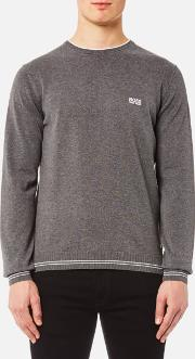 Boss Green , Men's Rime Jumper Mid Melange