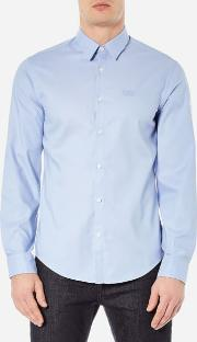 Boss Green , Men's C Buster Long Sleeve Shirt Blue