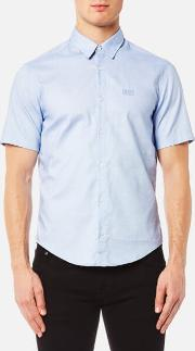 Boss Green , Men's Busterino Shirt Blue