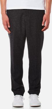 Ami , Men's Carrot Fit Trousers Anthracite