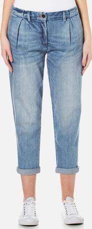 Barbour Heritage , Women's Jeans Light Wash