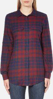 Barbour Heritage , Barbour Women's Highland Shirt Merlot