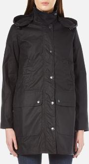 Barbour Heritage , Women's Wax Border Jacket Navy