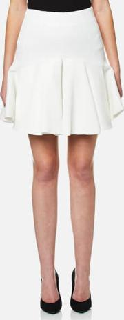 Cmeo Collective , Cmeo Collective Women's No Competition Flared Skirt Ivory