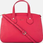 Furla , Women's Giada Medium Satchel Bag With Zip Ruby