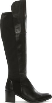 Kennel & Schmenger , Barnsbury Black Leather Heeled Boot