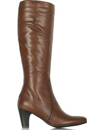 Lamica , Tan Acimal 60 Leather Knee Boots