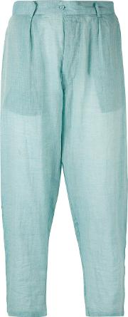 Mes Demoiselles , 'seto' Trousers Women Cotton 36, Blue