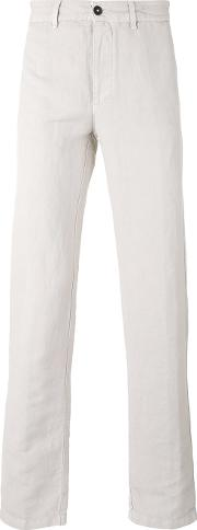 Massimo Alba , 'winch' Trousers Men Cottonlinenflax 50, Nudeneutrals