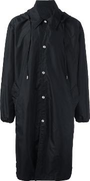 Ami Alexandre Mattiussi , Long Windbreaker Men Polyamide Xl, Black