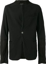 Andrea Yaaqov , Andrea Ya'aqov Single Button Jacket Men Cottonlinenflax L