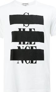 Anrealage , Graphic Printed T Shirt Men Cotton 50, White