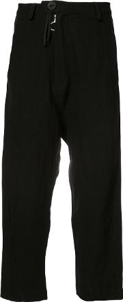 Area Di Barbara Bologna , Classic Cropped Trousers Women Linenflax M
