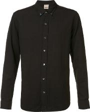 Baldwin , 'otis' Button Down Shirt Men Cotton M, Black