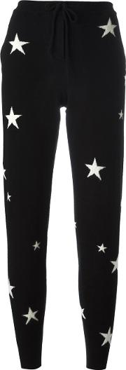 Chinti And Parker , Star Track Pants Women Cashmere S, Women's, Black