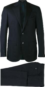 Corneliani , Two Piece Suit Men Cuprowool 54, Black