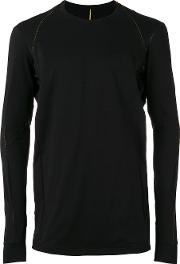 Devoa , Long Sleeve T Shirt Men Cotton 4, Black
